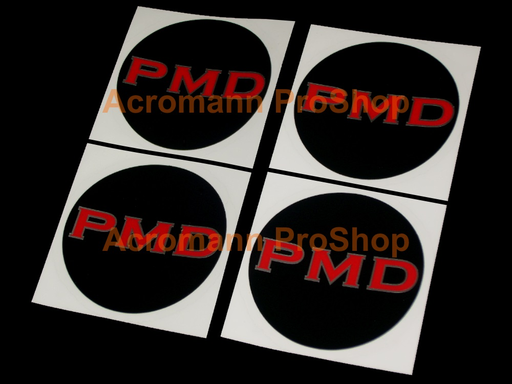 PMD 2.2inch Wheel Cap Decal x 4 pcs
